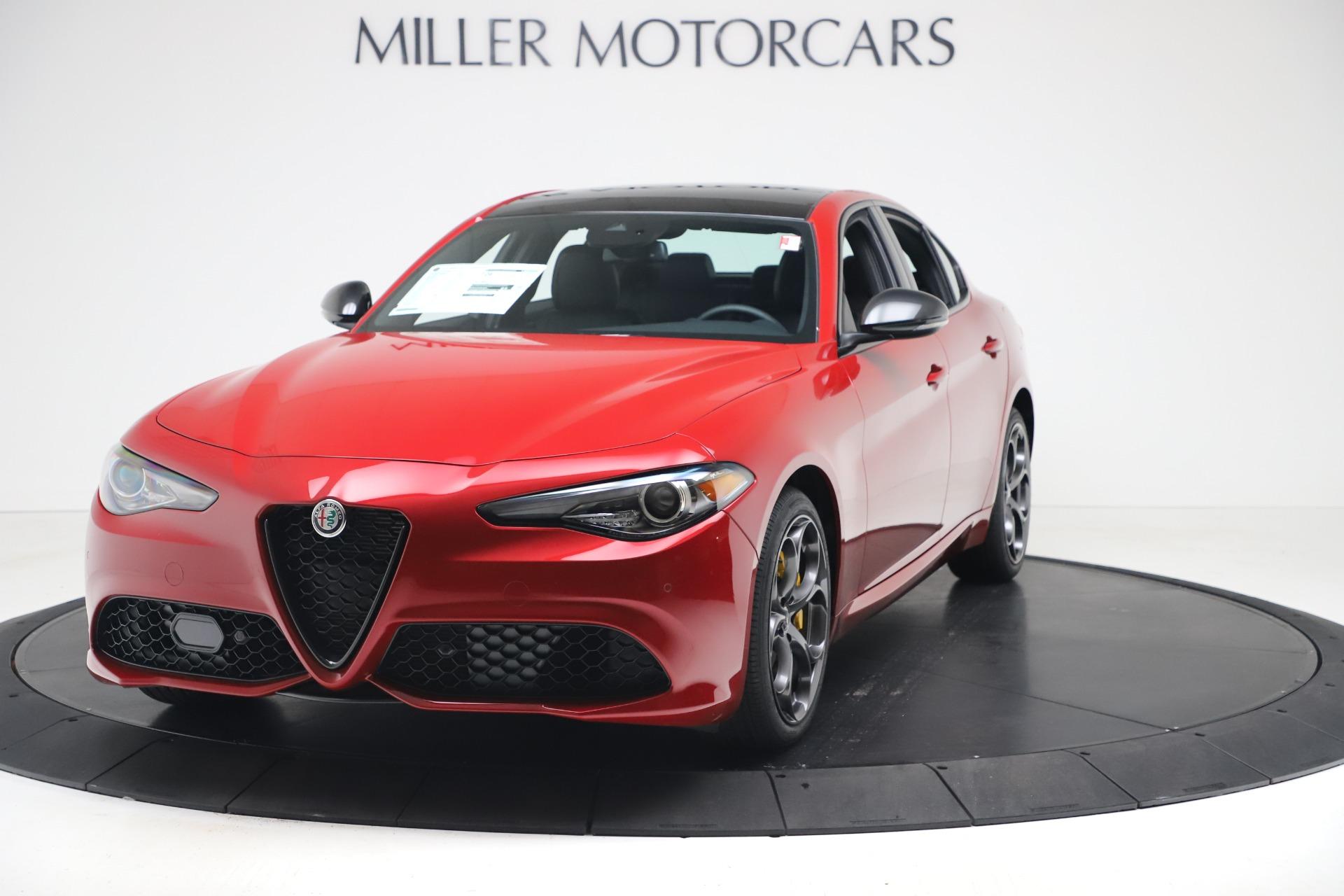 New 2020 Alfa Romeo Giulia Ti Sport Q4 for sale $56,690 at Bugatti of Greenwich in Greenwich CT 06830 1