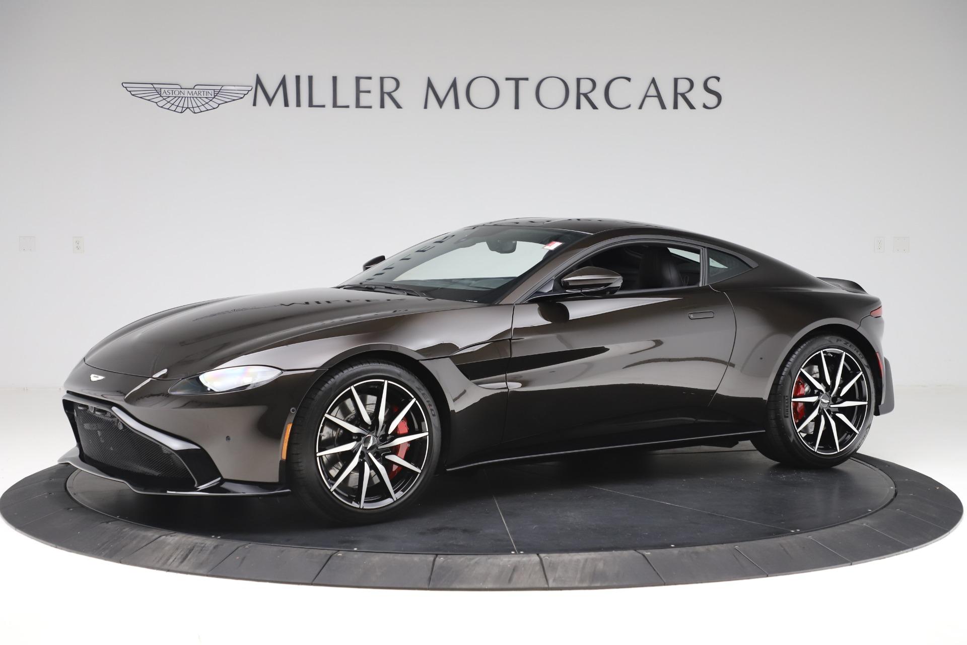 New 2020 Aston Martin Vantage Coupe for sale $184,787 at Bugatti of Greenwich in Greenwich CT 06830 1