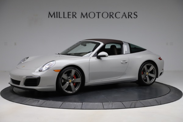 Used 2018 Porsche 911 Targa 4S for sale $134,900 at Bugatti of Greenwich in Greenwich CT 06830 12