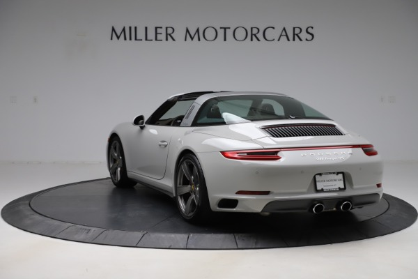 Used 2018 Porsche 911 Targa 4S for sale $134,900 at Bugatti of Greenwich in Greenwich CT 06830 5