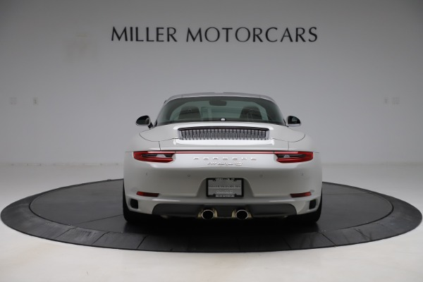 Used 2018 Porsche 911 Targa 4S for sale $134,900 at Bugatti of Greenwich in Greenwich CT 06830 6