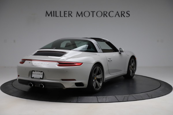 Used 2018 Porsche 911 Targa 4S for sale $134,900 at Bugatti of Greenwich in Greenwich CT 06830 7