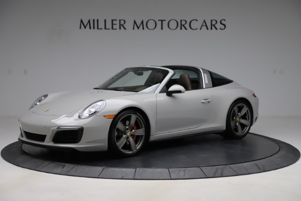 Used 2018 Porsche 911 Targa 4S for sale $134,900 at Bugatti of Greenwich in Greenwich CT 06830 1
