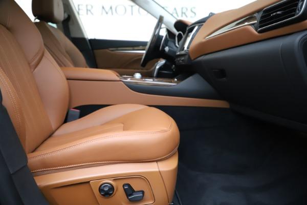 New 2020 Maserati Levante S Q4 GranLusso for sale $94,985 at Bugatti of Greenwich in Greenwich CT 06830 23