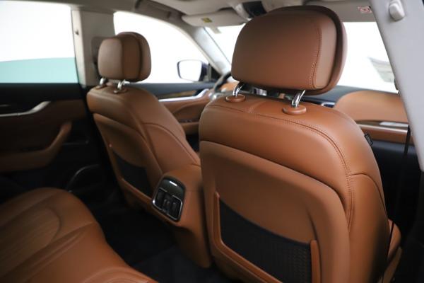 New 2020 Maserati Levante S Q4 GranLusso for sale $94,985 at Bugatti of Greenwich in Greenwich CT 06830 28