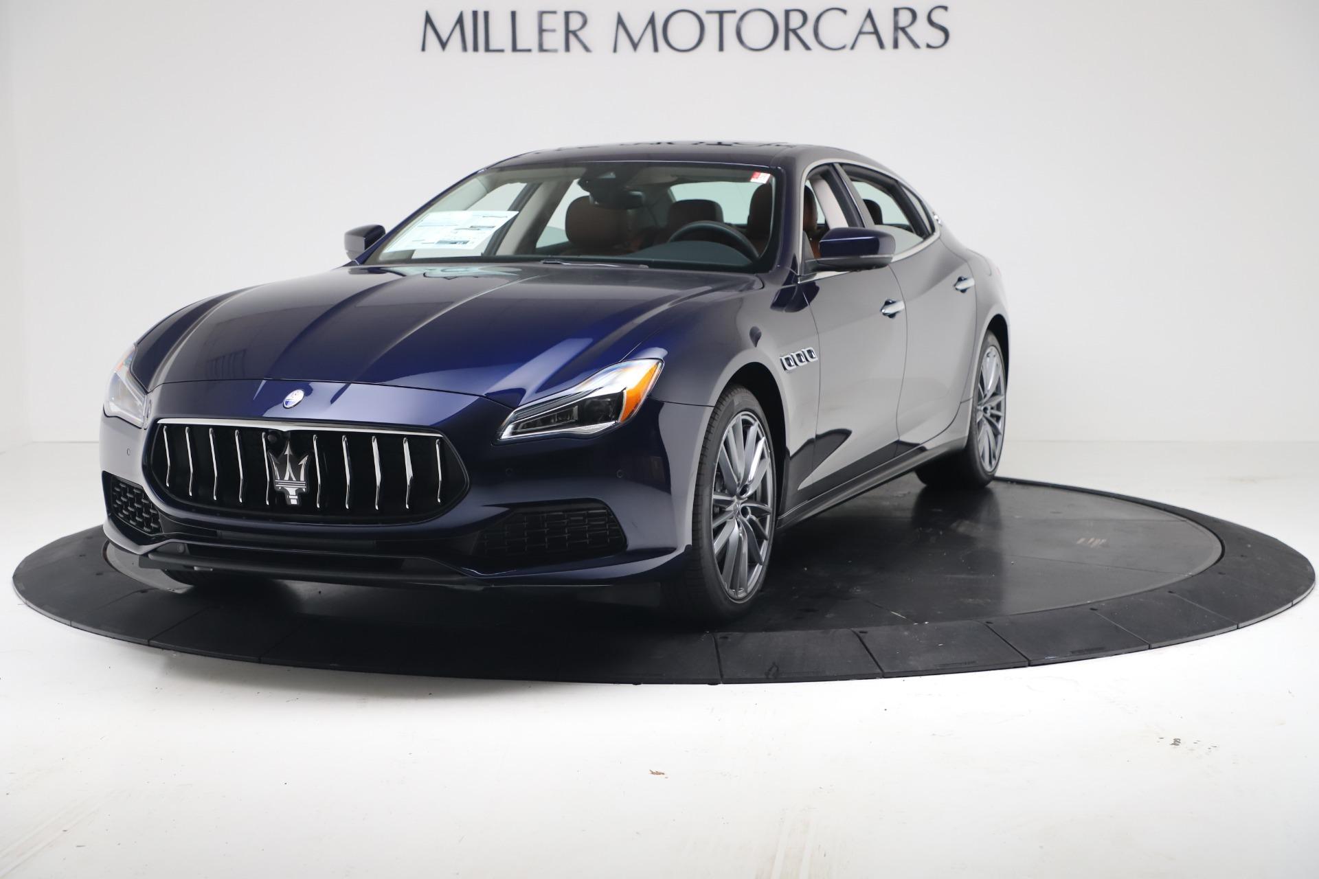 New 2020 Maserati Quattroporte S Q4 GranLusso for sale $122,185 at Bugatti of Greenwich in Greenwich CT 06830 1