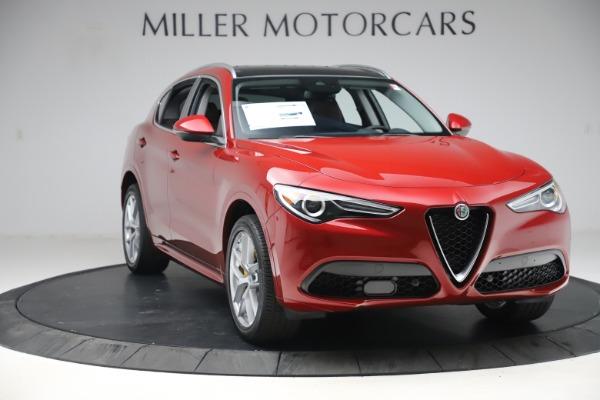 New 2020 Alfa Romeo Stelvio Ti Q4 for sale $57,040 at Bugatti of Greenwich in Greenwich CT 06830 11