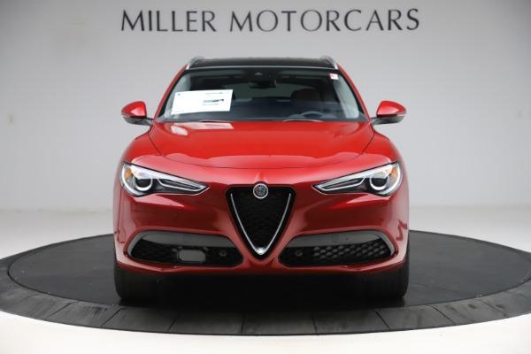 New 2020 Alfa Romeo Stelvio Ti Q4 for sale $57,040 at Bugatti of Greenwich in Greenwich CT 06830 12