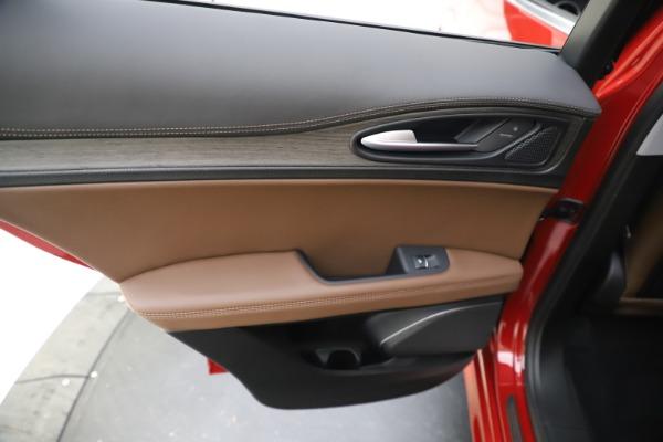 New 2020 Alfa Romeo Stelvio Ti Q4 for sale $57,040 at Bugatti of Greenwich in Greenwich CT 06830 21