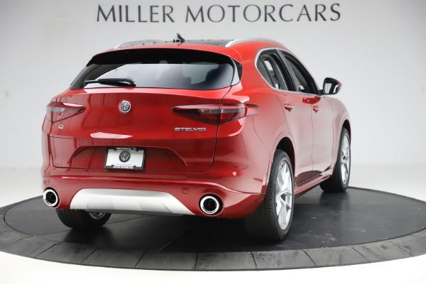 New 2020 Alfa Romeo Stelvio Ti Q4 for sale $57,040 at Bugatti of Greenwich in Greenwich CT 06830 7