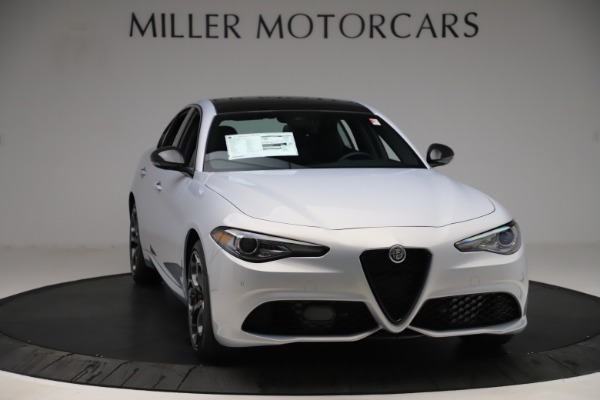 New 2020 Alfa Romeo Giulia Ti Sport Q4 for sale $51,590 at Bugatti of Greenwich in Greenwich CT 06830 11