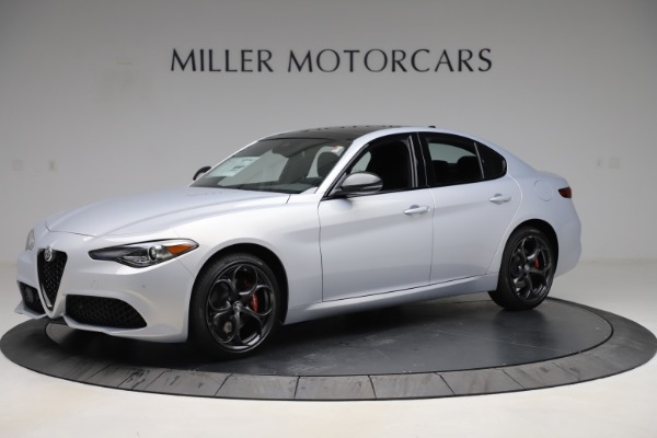 New 2020 Alfa Romeo Giulia Ti Sport Q4 for sale $51,590 at Bugatti of Greenwich in Greenwich CT 06830 2