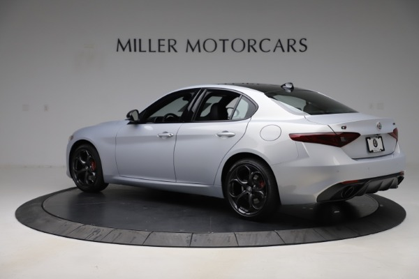 New 2020 Alfa Romeo Giulia Ti Sport Q4 for sale $51,590 at Bugatti of Greenwich in Greenwich CT 06830 4