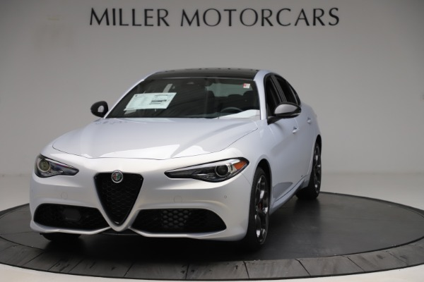 New 2020 Alfa Romeo Giulia Ti Sport Q4 for sale $51,590 at Bugatti of Greenwich in Greenwich CT 06830 1
