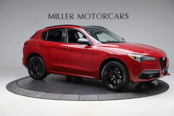 New 2020 Alfa Romeo Stelvio Sport Q4 for sale $50,190 at Bugatti of Greenwich in Greenwich CT 06830 10