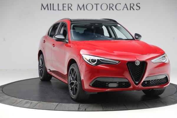 New 2020 Alfa Romeo Stelvio Sport Q4 for sale $50,190 at Bugatti of Greenwich in Greenwich CT 06830 11