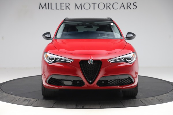 New 2020 Alfa Romeo Stelvio Sport Q4 for sale $50,190 at Bugatti of Greenwich in Greenwich CT 06830 12