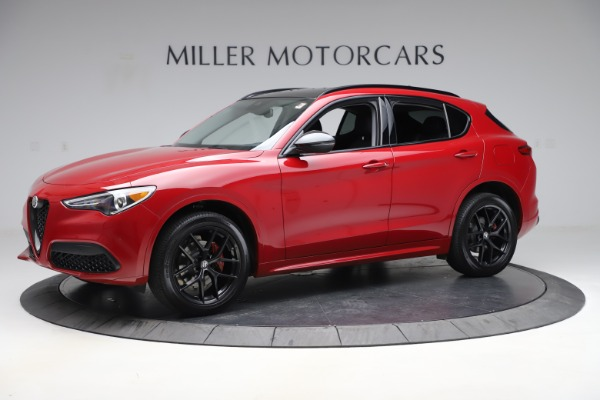 New 2020 Alfa Romeo Stelvio Sport Q4 for sale $50,190 at Bugatti of Greenwich in Greenwich CT 06830 2