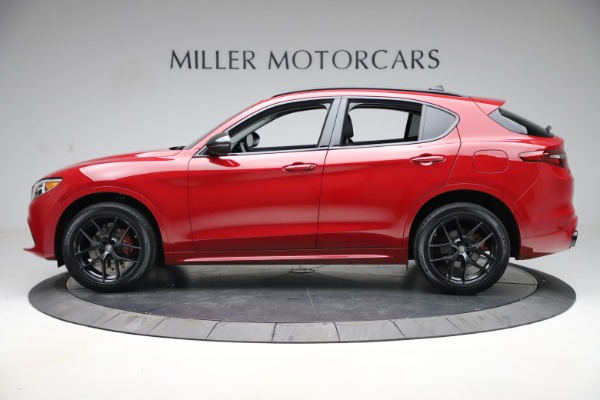 New 2020 Alfa Romeo Stelvio Sport Q4 for sale $50,190 at Bugatti of Greenwich in Greenwich CT 06830 3