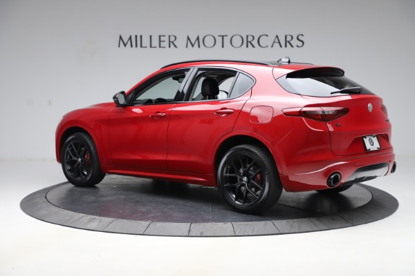 New 2020 Alfa Romeo Stelvio Sport Q4 for sale $50,190 at Bugatti of Greenwich in Greenwich CT 06830 4