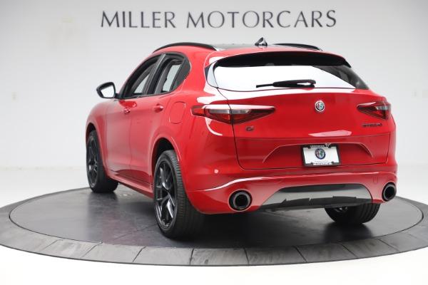 New 2020 Alfa Romeo Stelvio Sport Q4 for sale Sold at Bugatti of Greenwich in Greenwich CT 06830 5