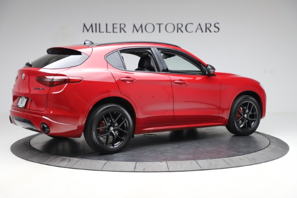 New 2020 Alfa Romeo Stelvio Sport Q4 for sale $50,190 at Bugatti of Greenwich in Greenwich CT 06830 8