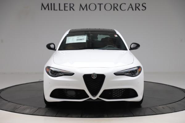 New 2020 Alfa Romeo Giulia Ti Sport Q4 for sale $53,190 at Bugatti of Greenwich in Greenwich CT 06830 12