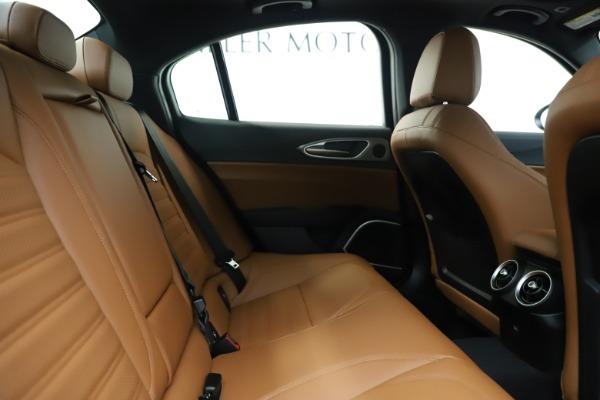 New 2020 Alfa Romeo Giulia Ti Sport Q4 for sale $53,190 at Bugatti of Greenwich in Greenwich CT 06830 27
