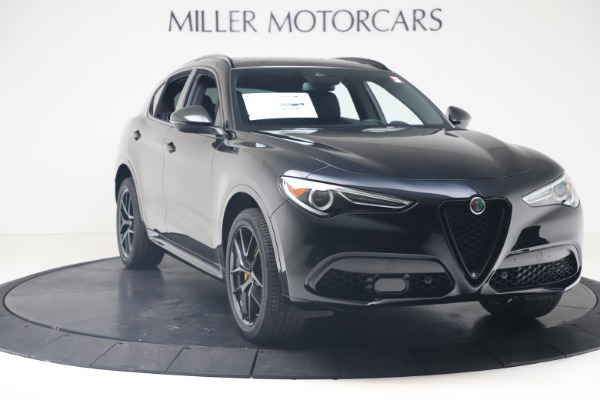 New 2020 Alfa Romeo Stelvio Ti Sport Q4 for sale $57,590 at Bugatti of Greenwich in Greenwich CT 06830 11