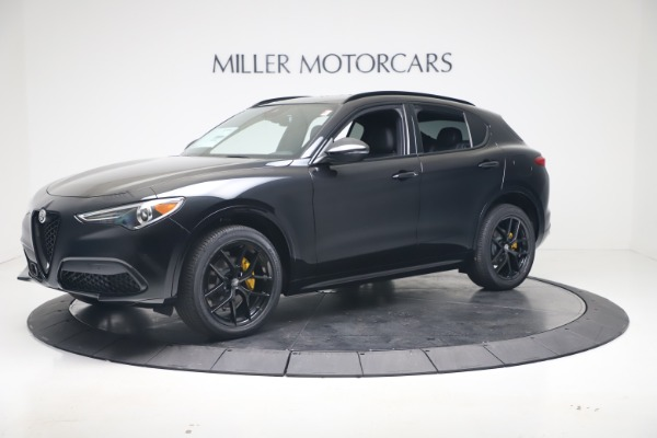 New 2020 Alfa Romeo Stelvio Ti Sport Q4 for sale Sold at Bugatti of Greenwich in Greenwich CT 06830 2