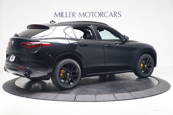 New 2020 Alfa Romeo Stelvio Ti Sport Q4 for sale Sold at Bugatti of Greenwich in Greenwich CT 06830 8