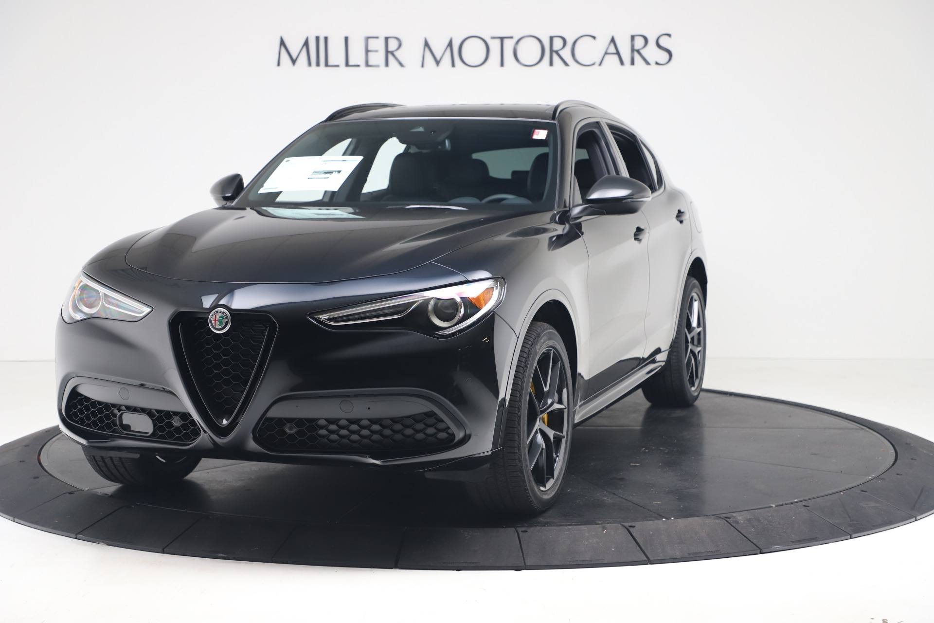 New 2020 Alfa Romeo Stelvio Ti Sport Q4 for sale $57,590 at Bugatti of Greenwich in Greenwich CT 06830 1