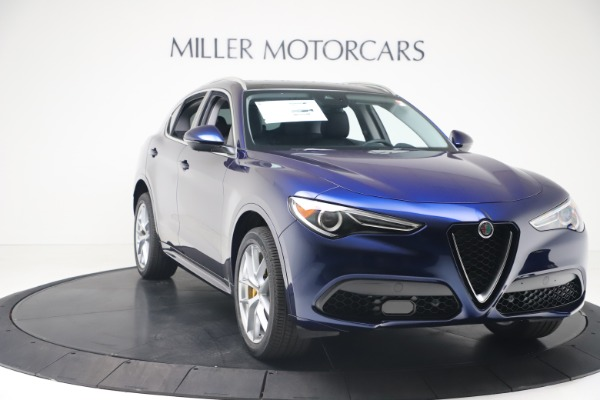 New 2020 Alfa Romeo Stelvio Ti Q4 for sale $54,340 at Bugatti of Greenwich in Greenwich CT 06830 11