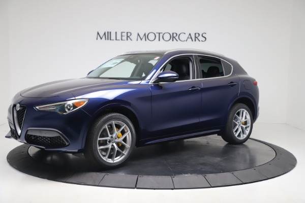 New 2020 Alfa Romeo Stelvio Ti Q4 for sale $54,340 at Bugatti of Greenwich in Greenwich CT 06830 2