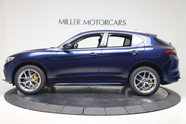 New 2020 Alfa Romeo Stelvio Ti Q4 for sale $54,340 at Bugatti of Greenwich in Greenwich CT 06830 3