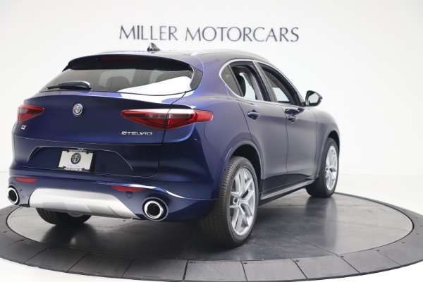 New 2020 Alfa Romeo Stelvio Ti Q4 for sale $54,340 at Bugatti of Greenwich in Greenwich CT 06830 7