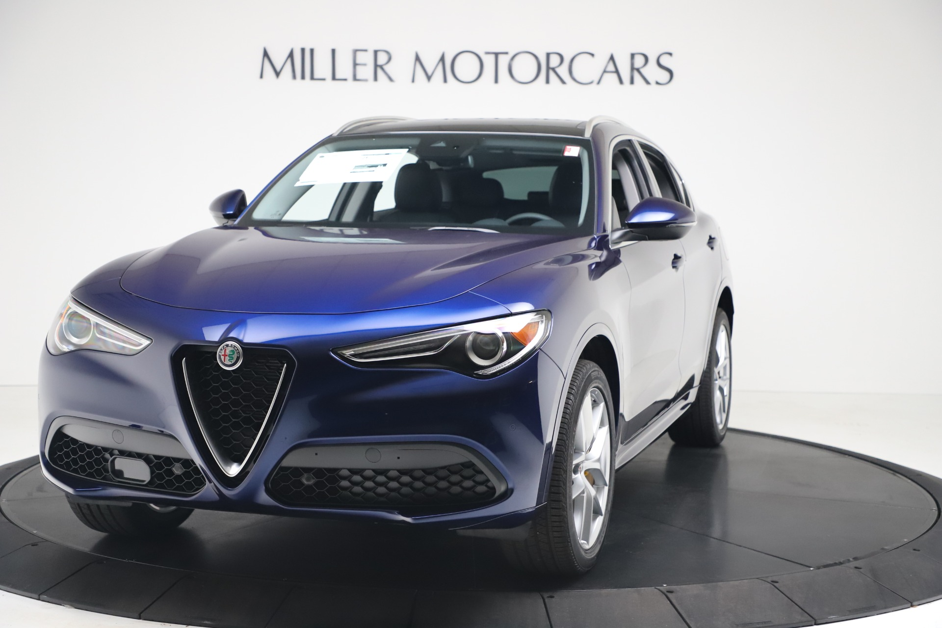 New 2020 Alfa Romeo Stelvio Ti Q4 for sale $54,340 at Bugatti of Greenwich in Greenwich CT 06830 1