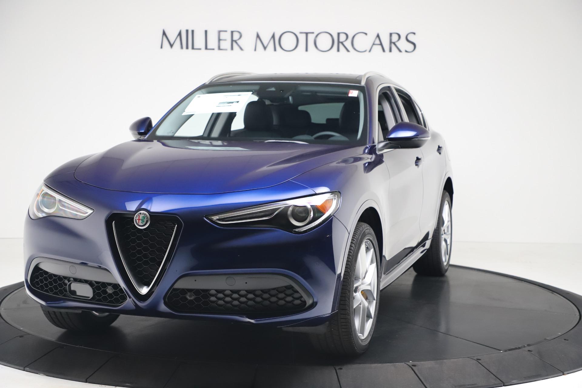New 2020 Alfa Romeo Stelvio Ti Q4 for sale $54,340 at Bugatti of Greenwich in Greenwich CT 06830 1