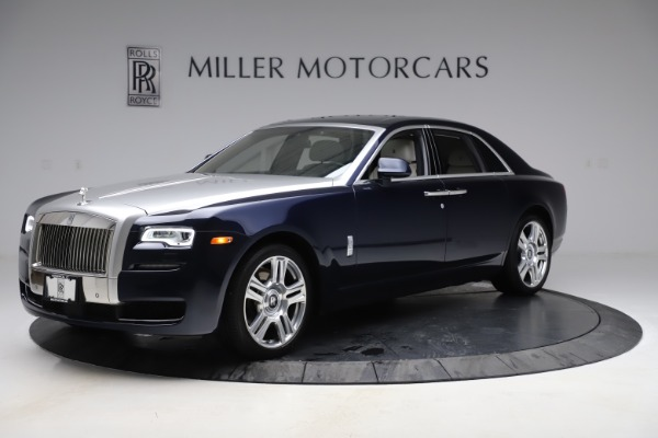 Used 2015 Rolls-Royce Ghost for sale $157,900 at Bugatti of Greenwich in Greenwich CT 06830 4