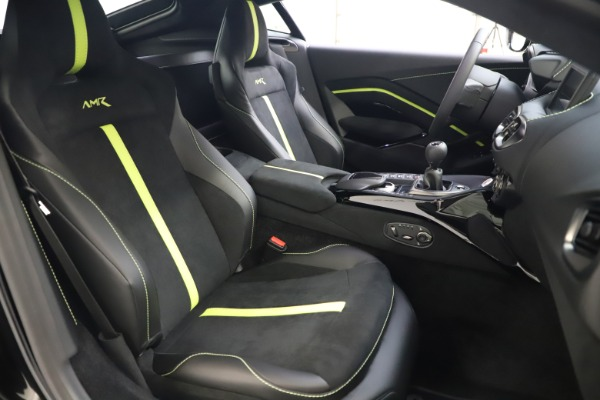 New 2020 Aston Martin Vantage AMR Coupe for sale $191,931 at Bugatti of Greenwich in Greenwich CT 06830 19