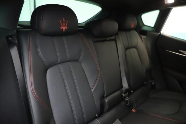 New 2020 Maserati Levante Q4 GranSport for sale Sold at Bugatti of Greenwich in Greenwich CT 06830 26