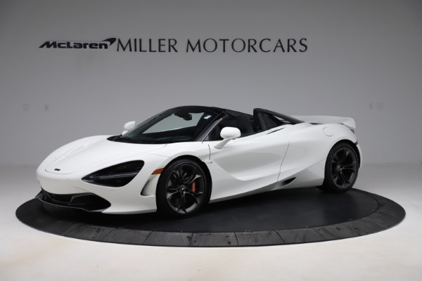 Used 2020 McLaren 720S Spider Convertible for sale Sold at Bugatti of Greenwich in Greenwich CT 06830 1