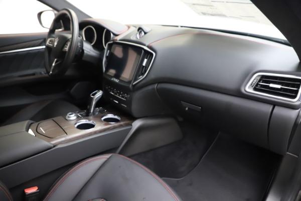 New 2019 Maserati Ghibli S Q4 GranLusso for sale $98,395 at Bugatti of Greenwich in Greenwich CT 06830 22