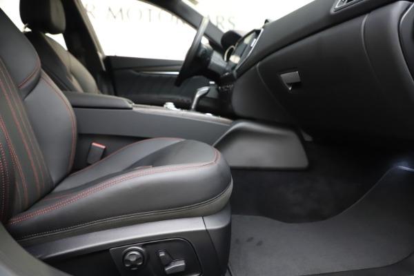 New 2019 Maserati Ghibli S Q4 GranLusso for sale $98,395 at Bugatti of Greenwich in Greenwich CT 06830 23