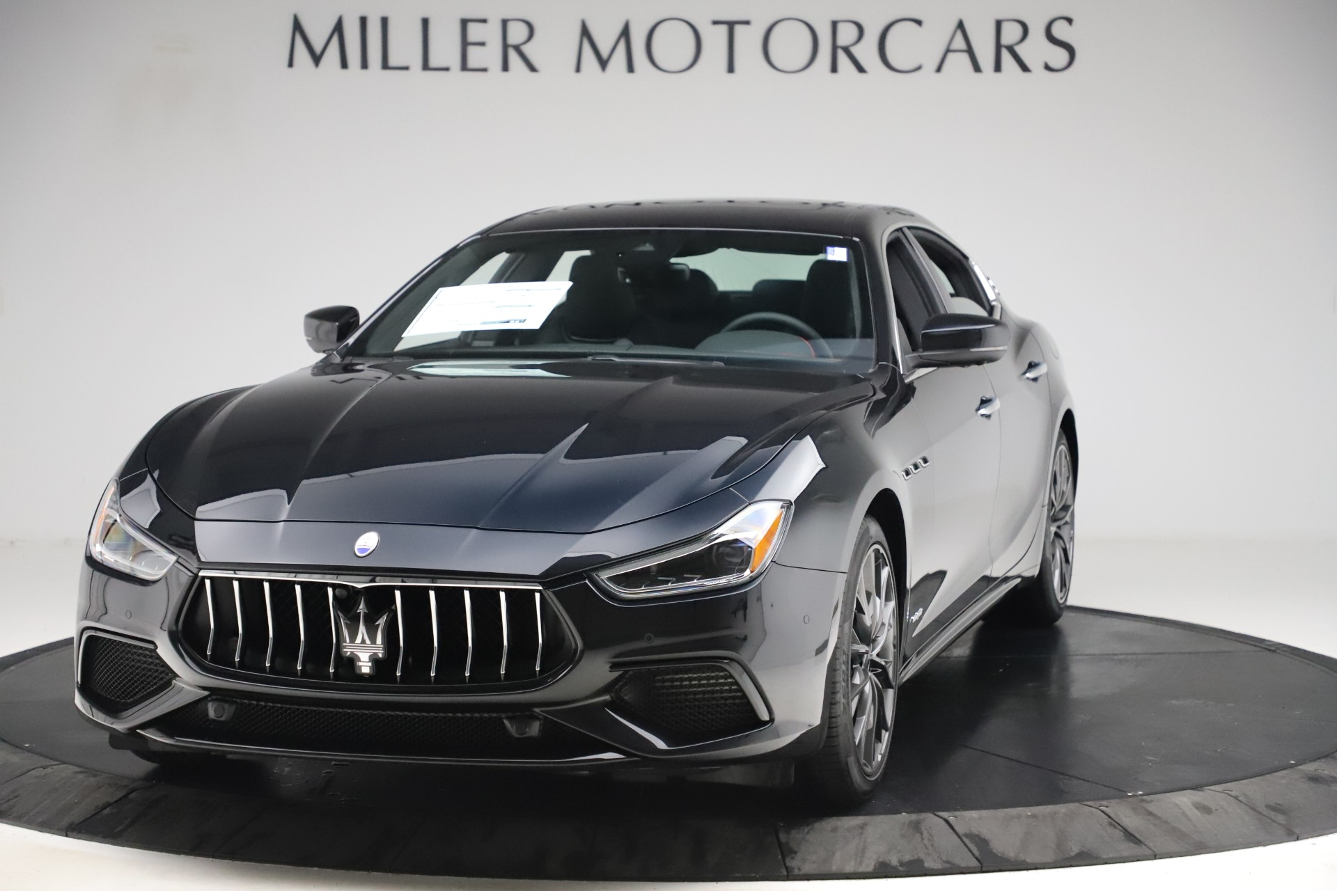 New 2019 Maserati Ghibli S Q4 GranSport for sale Sold at Bugatti of Greenwich in Greenwich CT 06830 1