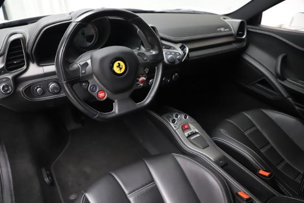 Used 2013 Ferrari 458 Italia for sale $186,900 at Bugatti of Greenwich in Greenwich CT 06830 13