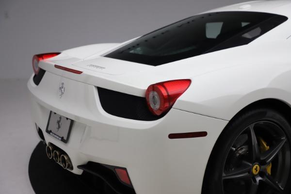 Used 2013 Ferrari 458 Italia for sale $186,900 at Bugatti of Greenwich in Greenwich CT 06830 26