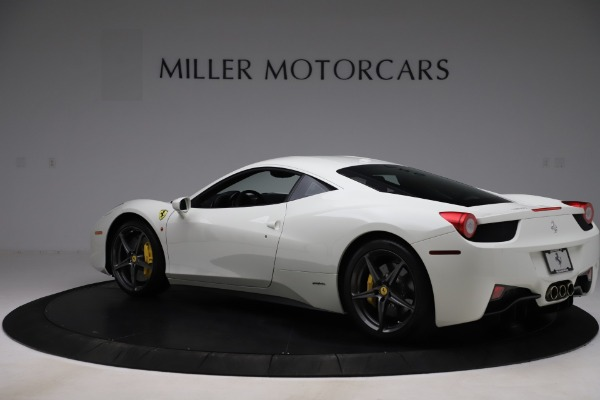 Used 2013 Ferrari 458 Italia for sale $186,900 at Bugatti of Greenwich in Greenwich CT 06830 4