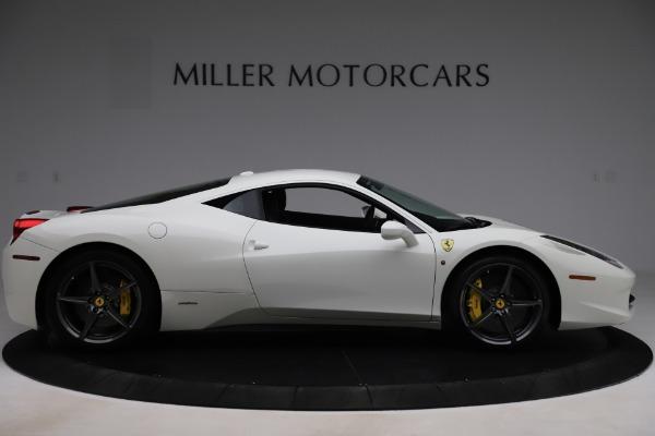 Used 2013 Ferrari 458 Italia for sale $186,900 at Bugatti of Greenwich in Greenwich CT 06830 9
