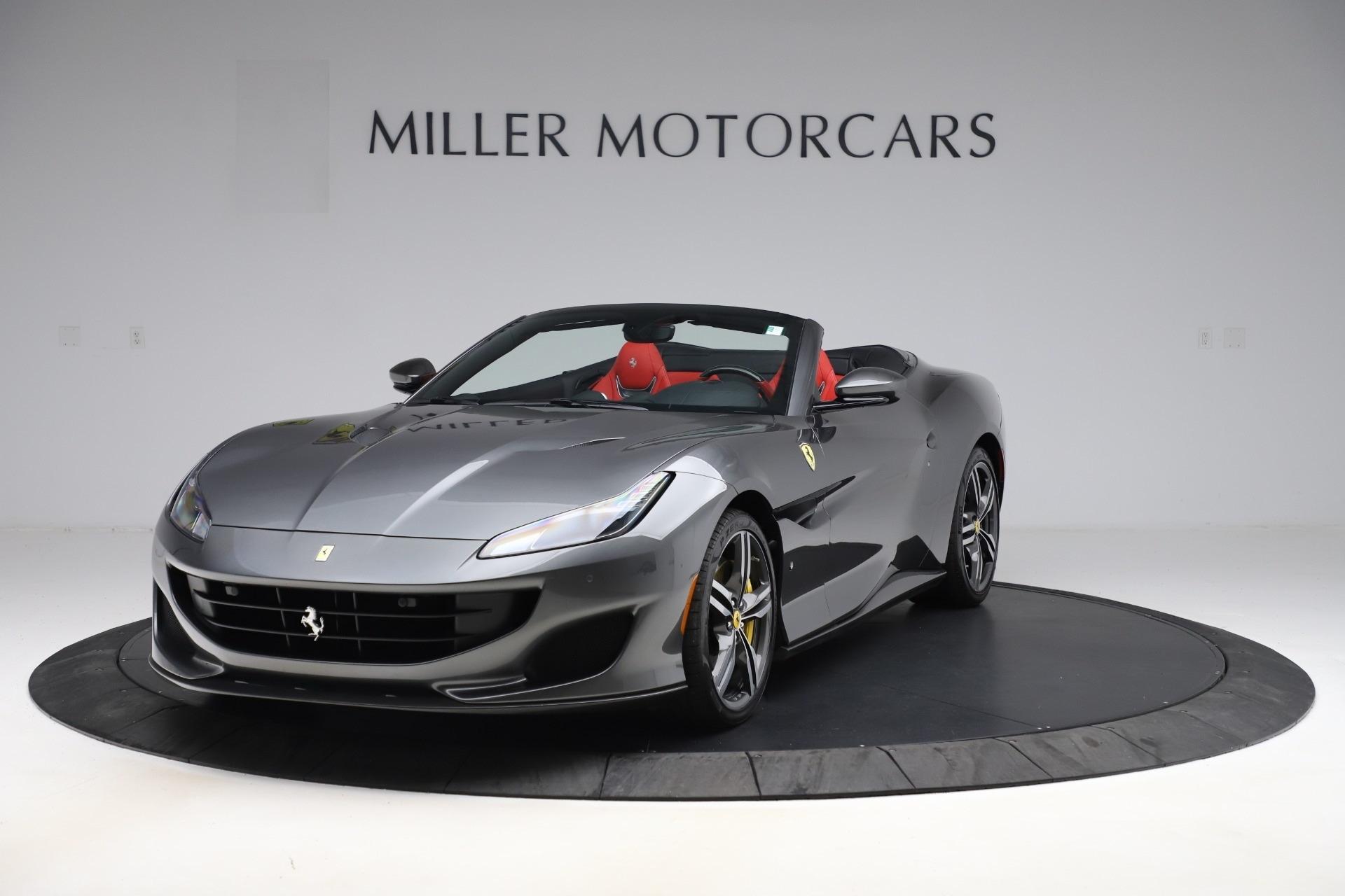 Used 2019 Ferrari Portofino for sale $231,900 at Bugatti of Greenwich in Greenwich CT 06830 1